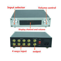 Remote volume control Preamp Pre-amplifier NJW1194 Treble Bass Tone Controller