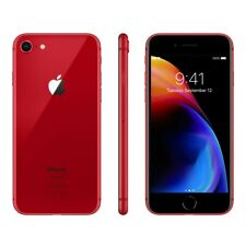 NEW RED AT&T 64GB APPLE IPHONE 8 SMART PHONE JC87 B