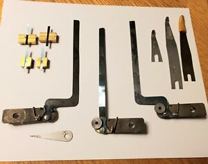 Kluge (3) Side Guides Letterpress Printing Bindery Left Right Straight