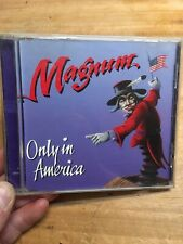 Magnum-Only In America CD 1992 Maxi Single Music For Nations CDKUT 148 Rare CD!