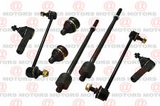 Front Steering Tie Rod Ends For Hyundai Santa Fe Lower Ball Joints Sway Bar Link