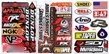 Metal Mulisha Racing Helmet RC Toy Bike Stickers Motorcycle Skateboard Decals
