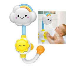 Baby Cloud Shape Bath Toy Kids Water Bathtub Shower Suction Cup Spray Game Toys