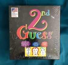 2nd Guess Game 2000 Great American Puzzle Factory Q&A 3-6 Players 12 And Up NEW