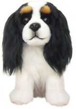 "Faithful Friends Cavalier King Charles Spaniel Tri-Colour 12"" Soft Toy Dog"