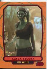 Star Wars Galactic Files Red Parallel #81 Aayla Secura