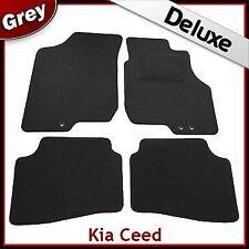 Kia Ceed 2007 2008 2009 2010 2011 Tailored LUXURY 1300g Car Mats (3 Holes) GREY