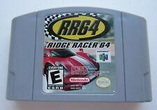 *GOOD* Ridge Racer RR64 Nintendo 64 N64 Video Game Retro Kids Racing Super Fun!