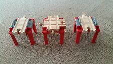 Thomas the Tank Engine and Friends Wooden Railway. Set of 3 Stacking Risers