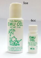 Emu Oil - Piercing or Tattoo Aftercare & Stretching - 6cc Vial
