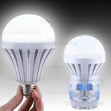 4X12W LED bulb charging smart lamp e27 indoor/outdoor emergency lamp