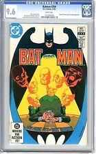 Batman #354  CGC  9.6  NM+  White pages 12/82  Rupert Thorne & Hugo Strange App.