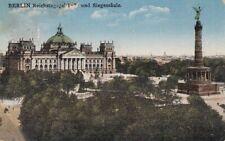 Berlin Reichstagsgebäude und Siegessäule gl1929 D2216