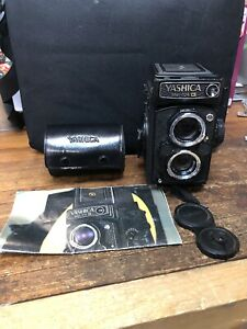 Vintage Yashica Mat-124G Film Camera w/ Extra Lenses