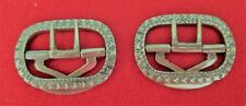18th century Knee breeches buckle white bronze buckle BF reproduction