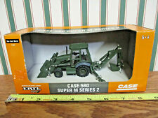 Case 580 Super M Series 2 Military Green Version By Ertl 1/50th Scale