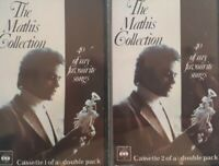 Johnny Mathis-The Mathis Collection 2 Cassette Set.CBS 40 88278.Misty/Moon River