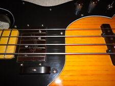 Ebony Wood Bass Guitar Thumb Rest - Cute Widdle Spud Size!