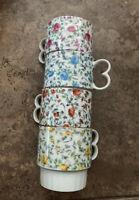Vintage Stackable ENESCO Coffee Cups