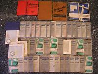 Continental Straßenkarte Sonderkarte Tourenbuch Atlas 30er Jahre Auswahl