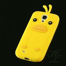 Samsung Galaxy S4 Silikon Case Schutz Hülle Handy Schale Chicken Gelb Etui