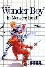 ## SEGA Master System - Wonder Boy: Monster Land / MS Spiel ##