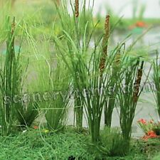 MP SCENERY 24 Cattails HO Scale Architectural Water Plants Trees Railroad