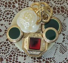 Estate Button Collectors Applied Buttons Brooch Dress Pin