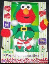 NEW ~12 DAYS OF CHRISTMAS ELMO~ Elf,Fisher Price,Twelve