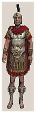 More details for lifesize roman general army empire caesar armour schools teaching poster 6 feet
