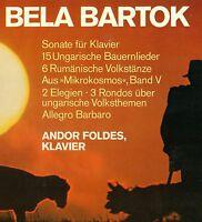 "Bela Bartók Piano Pieces Andor Foldes Sonata Bauernlieder Dances 12 "" LP (L5788)"