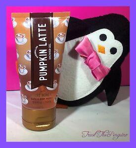 Bath and Body Works Marshmallow Pumpkin Latte Travel Size Shower Gel 3 oz