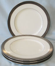 Mikasa AK026 Crown Jewel Platinum Salad Plate set of 4
