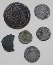 Ungarn 6 spät-mittelalterliche Münzen