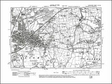 Old map of Leigh, Lancashire 1908: 102NE repro