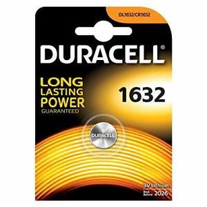 DURACELL CR1632 Bouton Lithium 3 V Blister Piles - Date 2029