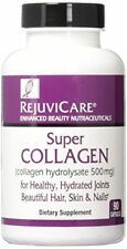 4 Pack Rejuvicare Super Collagen for Health & Beautiful Hair Skin 90 Count Each