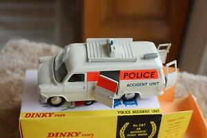 DINKY TOYS REF 287 FORD TRANSIT FOURGON  MK I POLICE . NOREV . CORGI . VEREM