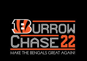 Joe Burrow Ja'Marr Chase 2022 campaign shirt Cincinnati Bengals who dey Jamarr