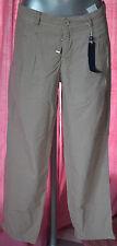 pantalon à pinces femme sable HIGH USE taille 40 NEUF AVEC ETIQUETTES