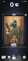 Topps Digital Star Wars Card Trader Illustrated CTI Blue Boba Fett Series 6