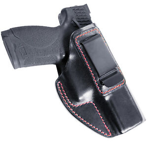 For M&P 2.0 9mm / .40 Cal IWB Smith and Wesson Concealed Carry Leather Holster
