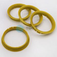 4 X Set anelli di centraggio cerchi in lega Spigot Anello 72,0 x 59,1 mm T-System VERDE