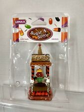 Lemax Sugar N Spice Ticket Booth Halloween Decorations New H209