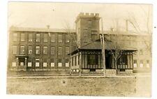 Binghamton NY -CHENANGO SILK COMPANY FACTORY- RPPC Postcard