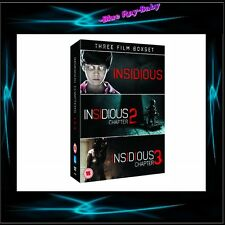 INSIDIOUS MOVIE COLLECTION - CHAPTERS 1 2 & 3 ** BRAND NEW DVD BOXSET**