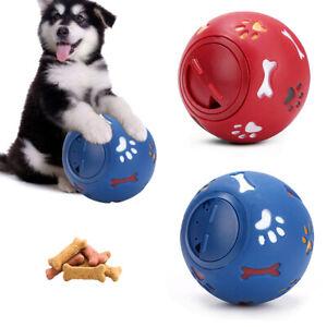 Dog Pet Puzzle Toy Fun Tough Treat Ball Mental Food Dispenser Interactive Play