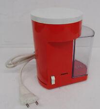 Kultige rote Kaffeemühle Krups 221 Kaffee Mühle 70er vintage coffee grinder 70s