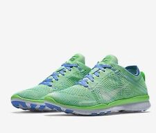competitive price 66cad 049e4 Nouvelle annonceNike Free TR Flyknit UK 4.5 EUR 38 tension vert blanc-Chalk  Blue