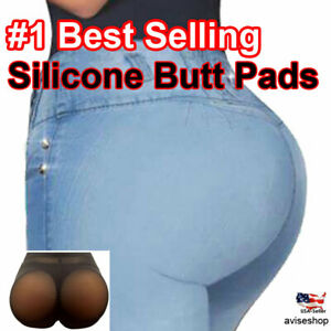 BIG Silicone Butt Pads buttock Enhancer body Shaper Brief  Panty Tummy Control